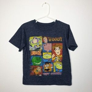 Disney Pixar Toy Story Character Graphic Tee 5T